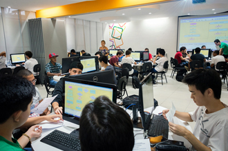Laboratório de Criação da área de computação e informática