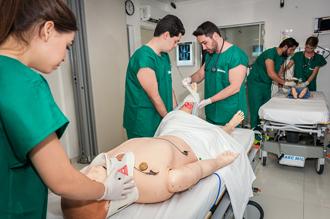 Laboratório de Habilidades e Simulação da área da Saúde