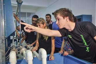 Laboratório de Hidráulica das engenharias