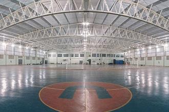 Centro Esportivo do campus II -  composto por 3 quadras poliesportivas oficiais para as práticas específicas: quadras 1 e 2: basquetebol, futsal e voleibol; quadra 3: handebol e futsal.  Além disso, o espaço abriga grande diversidade de esportes não convencionais.  Ao redor das quadras foi projetada uma mini pista de corrida de 200 metros para práticas de atletismo. O complexo esportivo conta ainda com academia de musculação, salas de aula, laboratórios de Fisiologia do Exercício, Biomecânica e Cinesiologia, salas de atividades rítmicas, lutas e recreação, além de vestiários