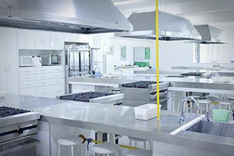 Laboratório de Tecnologia de Alimentos: destina-se ao estudo das características físicas, químicas e nutricionais dos alimentos