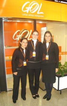 Aluna de Turismo é agente instrutora em companhia aérea