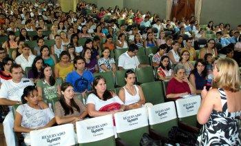 Alunos e profissionais participam de evento do Coren-SP