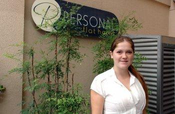 Ex-aluna de Turismo é gerente em hotel