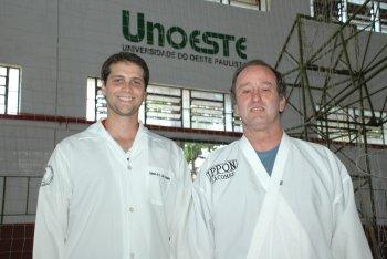 Ex-aluno de Medicina acompanha seleção brasileira de karatê