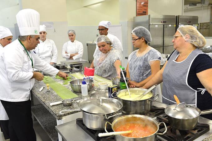 Participantes recomendam curso e atividades da Gastronomia