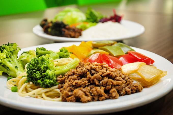 Restaurante Universitário agora oferece prato vegetariano