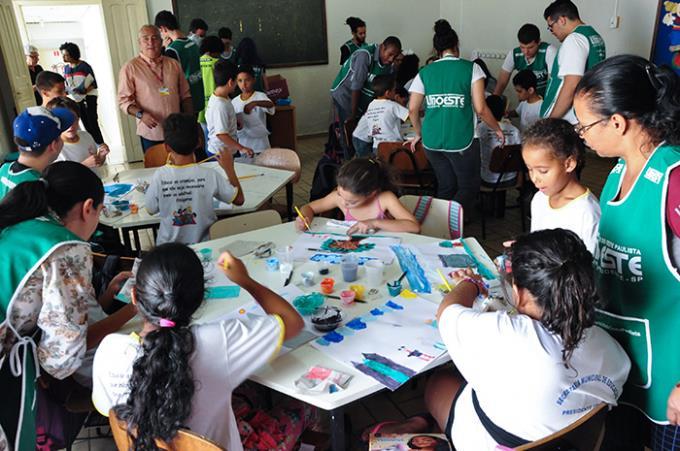 Projeto de inclusão cidadã é levado ao Lar Santa Filomena
