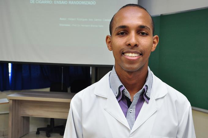 Heliard Caetano: aprovado para receber o título de mestre em Ciência Animal