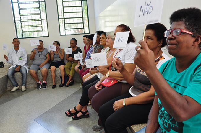 Programa na UBS do Brasil Novo faz orientação sobre hepatite