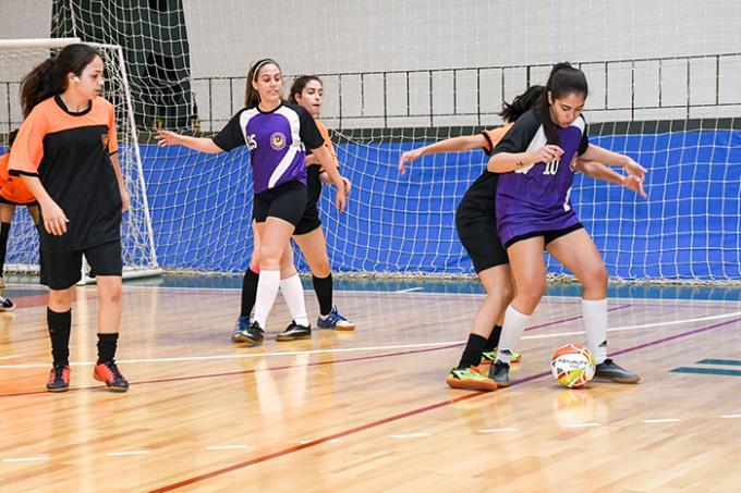 38º Intercursos inicia com as disputas de futsal feminino