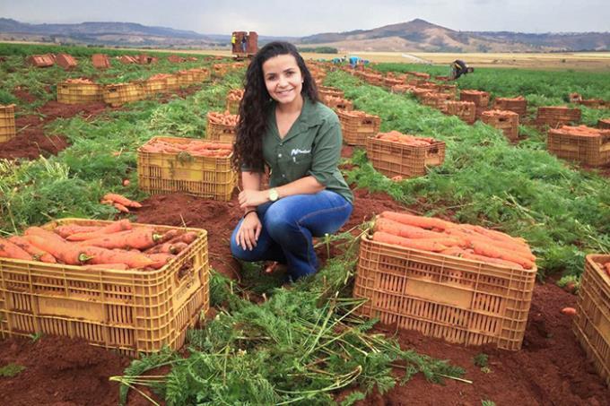 Jovem agrônoma é destaque em programa nacional de TV