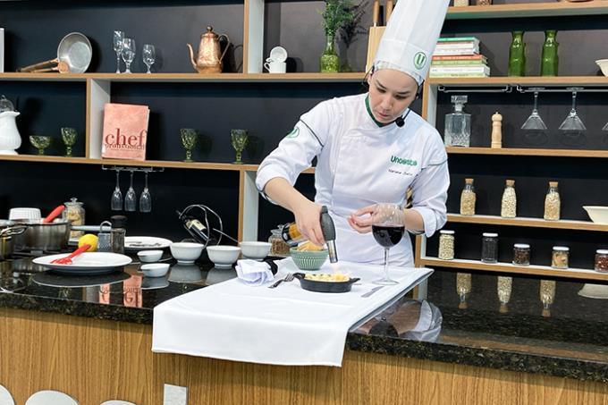 Risoto de bacalhau é receita de aula on-line da Gastronomia