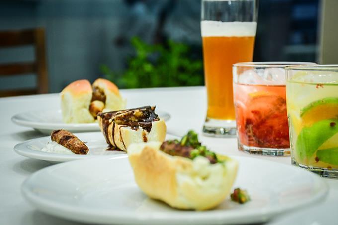 Gastronomia realiza degustação de drinks e embutidos
