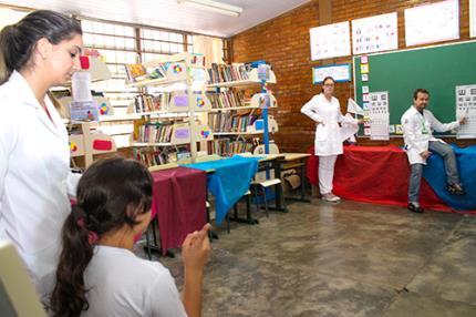 Projeto de acuidade visual atende escolas de bairros rurais