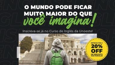 Curso de Inglês BÁSICO 1: terças e Quintas - feiras das 17h50m às 19h -  4ª Turma