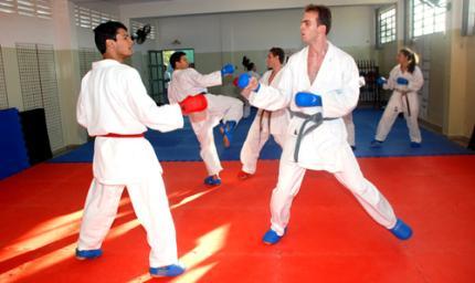 Fotos de treinos de karate 20